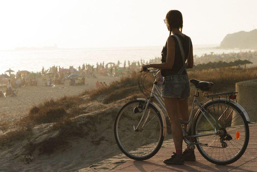 la barrosa en bicicleta